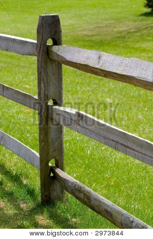 Rail Fence Detail