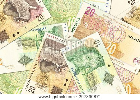 Some New South African Rand Banknotes Specimen