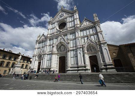 Basilica Di Santa (basilica Of The Holy Cross), Florence, Italy - 23rd May 2016