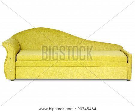 Sofa On White