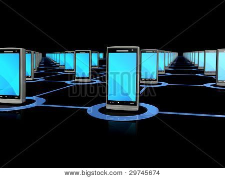 Mobile phone network