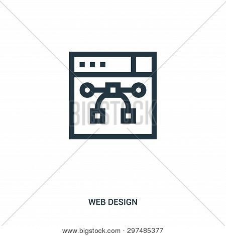 Vector Icon Isolated On White Background From Web Design Collection. Vector Icon Trendy And Modern V