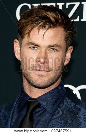 Chris Hemsworth at the World premiere of 'Avengers: Endgame' held at the LA Convention Center in Los Angeles, USA on April 22, 2019.