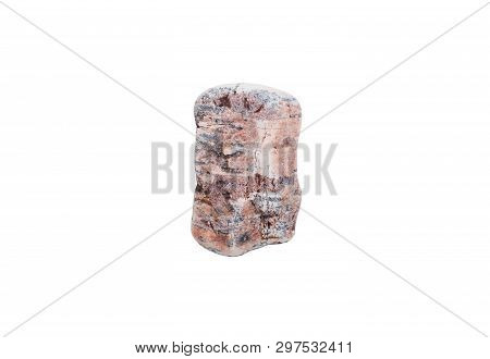 Rocks Natural On White Background.