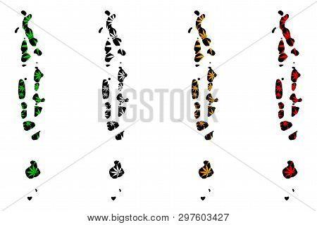 Maldives - Map Vector & Photo (Free Trial) | Bigstock