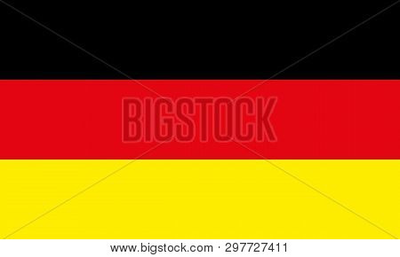 Germany Flag Vector Eps10.  German Flag. Germany Flag Icon
