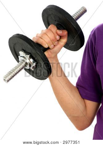 Man Working Out