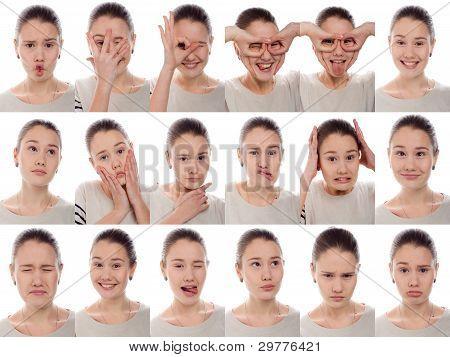 one kid - many emotions