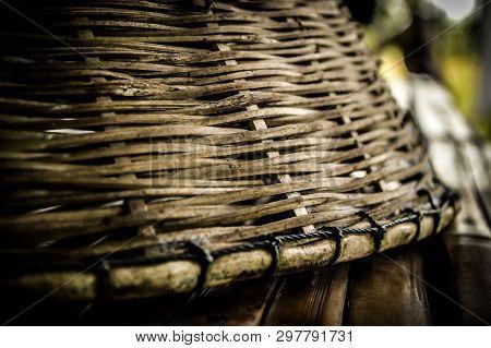 Very Nice Wickerwork Of Villagers In Thailand