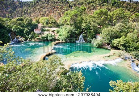 Krka, Sibenik, Croatia, Europe - Enjoying The Beauty Of Nature Within Krka National Park