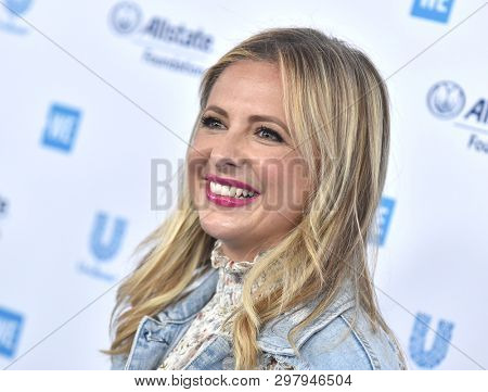 LOS ANGELES - APR 25:  Sarah Michelle Gellar arrives for WE Day California 2019 on April 25, 2019 in Inglewood, CA