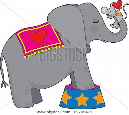 Elephant And Mouse