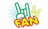 This symbol for the fan lover gang poster