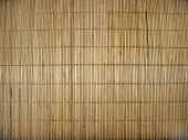 Bamboo stick straw mat texture background abstract pattern poster