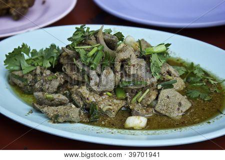 Thai Grilled Liver