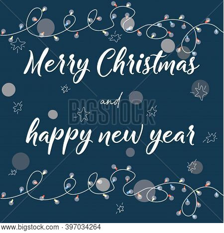 Cutewish You A Merry Christmas And Happy New Year.greeting Cards. Poster, Prints And Home Decor.temp