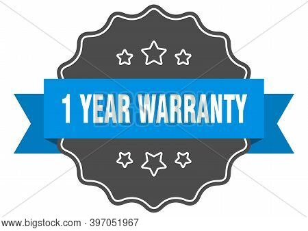 1 Year Warranty Blue Label. 1 Year Warranty Isolated Seal. 1 Year Warranty