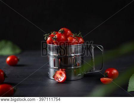 Homemade Vegetables. Fresh Organic Vegetables. Vegetables From The Garden. Colorful Vegetable. Healt