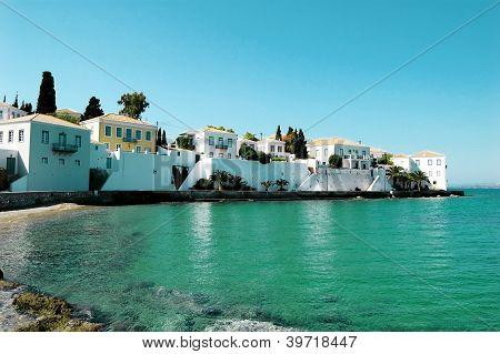 Beach On The Island In Greece