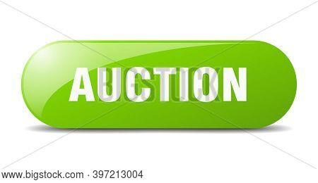 Auction Button. Auction Sign. Key. Push Button.