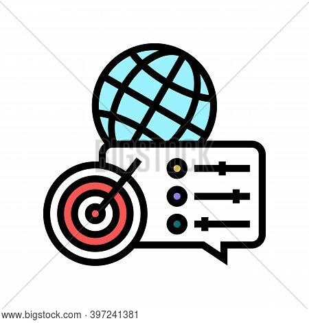 Optimization Of Supply Chains Color Icon Vector. Optimization Of Supply Chains Sign. Isolated Symbol