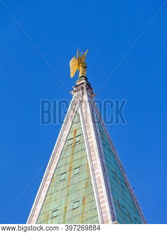 Saint Mark Bell Tower Campanile In Venice Italy