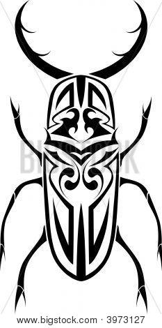 Stag Beetle Tribal