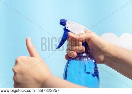 Alcohol Spray Hand Sanitizer For Prevent Covid-19 Virus
