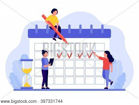 Month Markers In The Menstrual Calendar Woman. Monthly Calendar Cycle, Menstrual Cycle. Women Notice