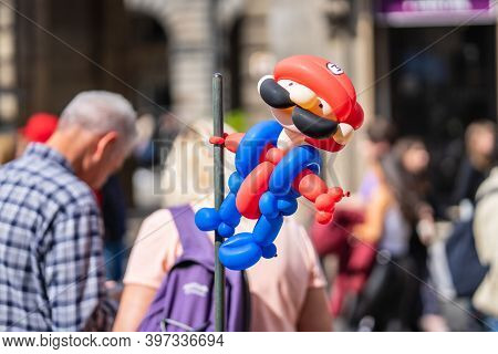 Balloon Modelling Or Balloon Twisting Is The Shaping Of Special Modelling Balloons Into Almost Any G