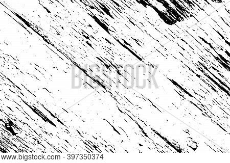 Artistic Messy Frame Background. Paint Overlay Roller Distress Border Texture. Paint Roller Distress