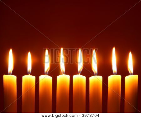 Eight Alight Candles