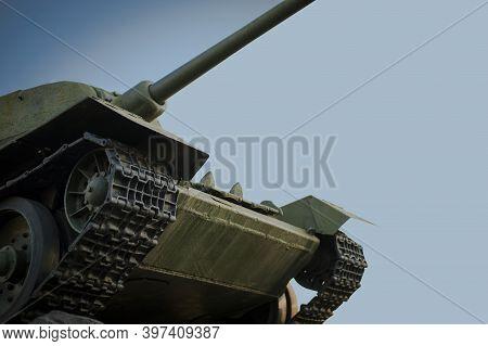 Monument Of World War Ii Tank T34