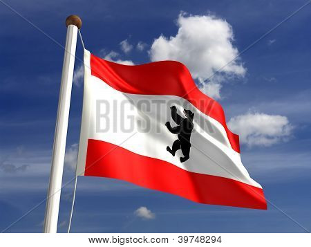 Berlin Flag Germany