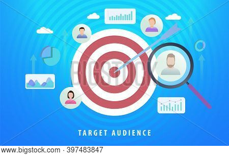 Target Audience Digital Marketing Advertising Segmentation. Sales Generation With Particular Group O