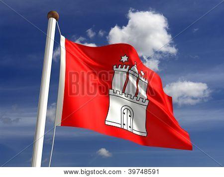 Hamburg Flag Germany