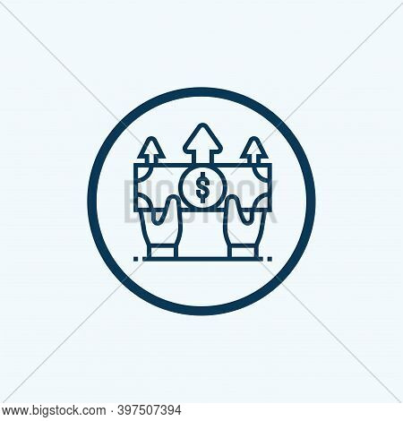 Money Icon Isolated On White Background From E Commerce Collection. Money Icon Trendy And Modern Mon