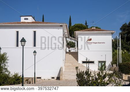 Querenca, Loule - 5th October 2020: Foundation Manuel Viegas Guerreiro Building, Named After The Fam