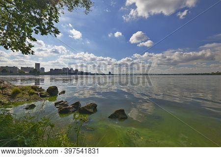 Dnipro Is A City, The Administrative Center Of The Dnipropetrovsk Region Of Ukraine And The Dnieper