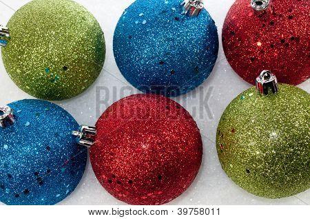 Multi Colored Ornaments