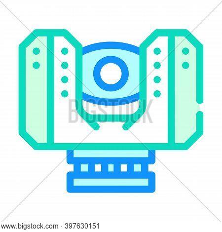 Laser Scanner Device Color Icon Vector Illustration