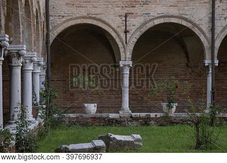 Church Of Sant'elena With Attached Cloister, City Of Venice, Italy, Europe