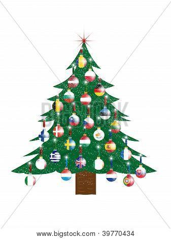 Christmas Tree - European Union