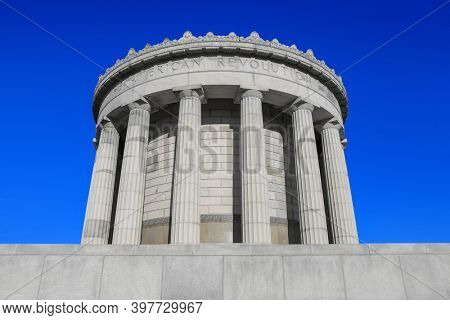 George Rogers Clark National Historical monument in Vincennes, Indiana
