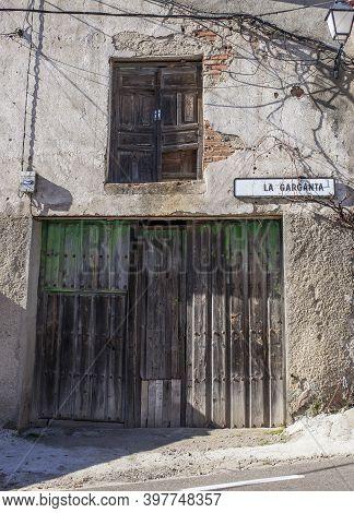 La Garganta Village, Banos De Montemayor District. Valle Del Ambroz, Extremadura, Spain