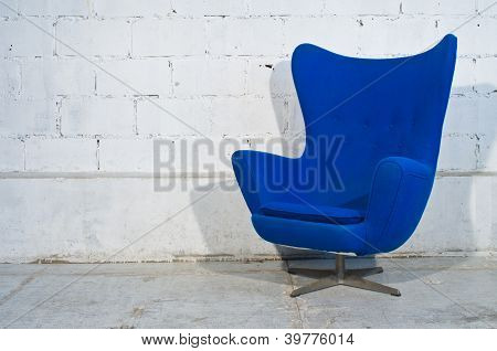 Modern Blue Chair