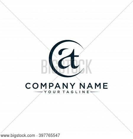 Initial Letter Logo At Or Ta, Logo Template Designs