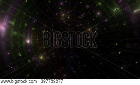 Dark Atmospheric Ambient Lights Effects 3d Illustration Background Wallpaper Artwork