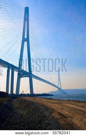 Bridge to Russky island.