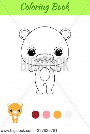 Coloring Book Little Vector Photo Free Trial Bigstock